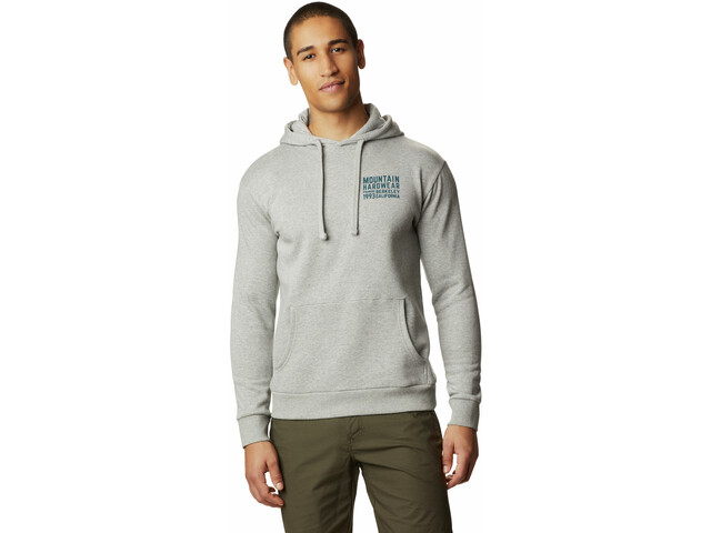 Mountain Hardwear Berkeley 93 Pullover Hoody Men heather manta grey